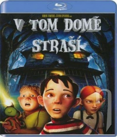 BLU-RAY Film - V tom dome straší 3D (Blu-ray)