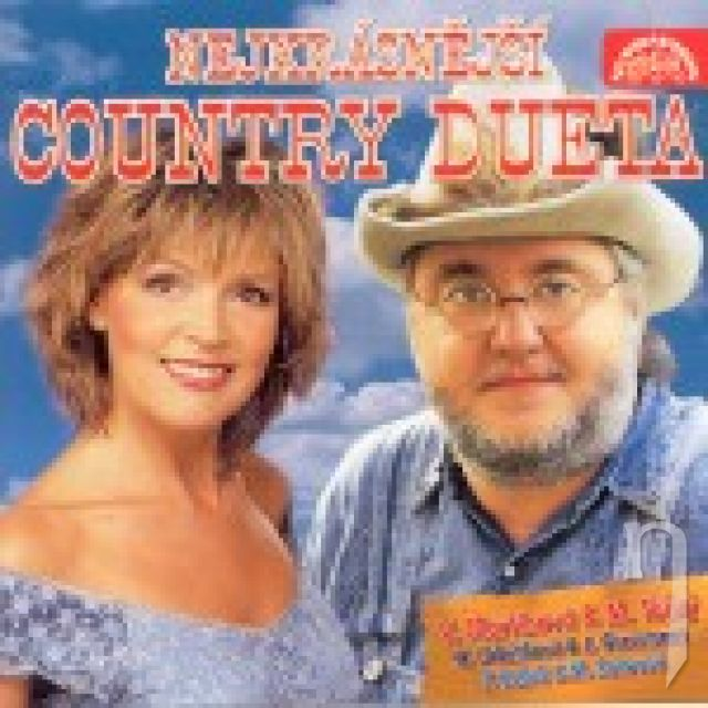 CD - VARIOUS: NEJKRASNEJSI COUNTRY DUETA