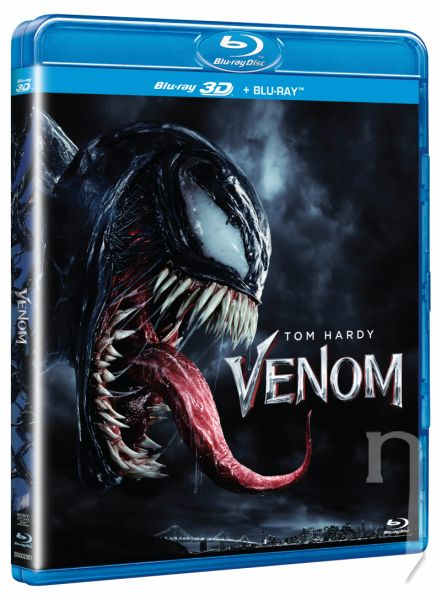 BLU-RAY Film - Venom (2D+3D)