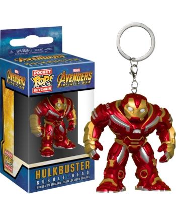 Vinylová figúrka - kľúčenka - Avengers Hulkbuster - Funko - 5 cm