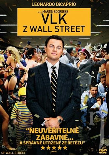 DVD Film - Vlk z Wall Street