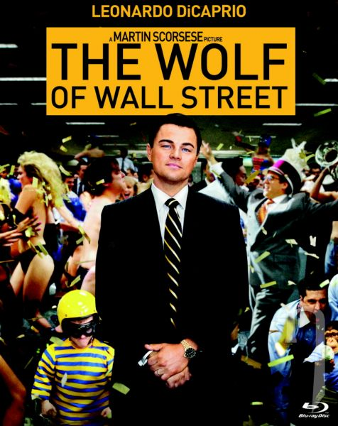 BLU-RAY Film - Vlk z Wall Street