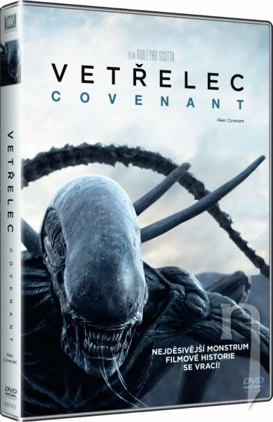 DVD Film - Vetřelec: Covenant