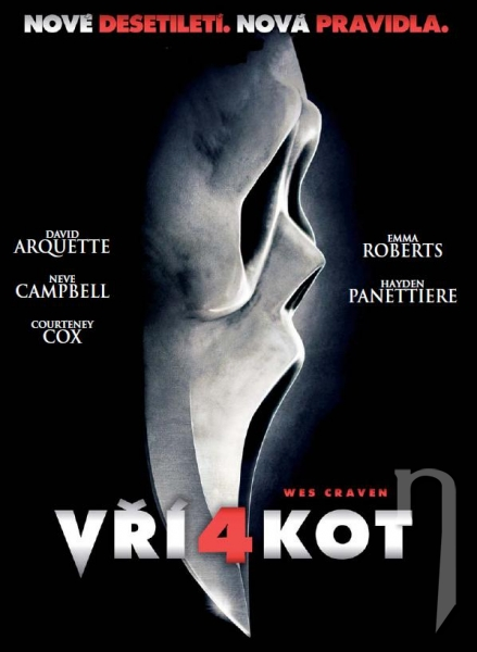 DVD Film - Vřískot 4 (digipack)