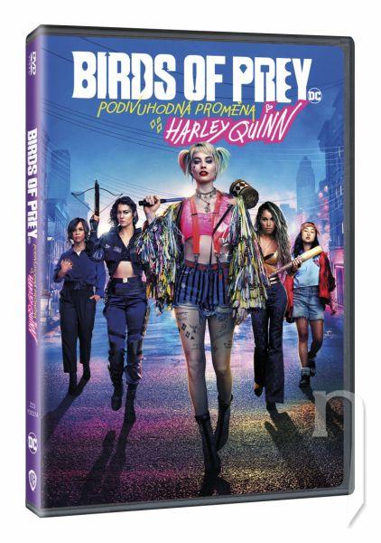 DVD Film - Birds of Prey (Podivuhodná proměna Harley Quinn)