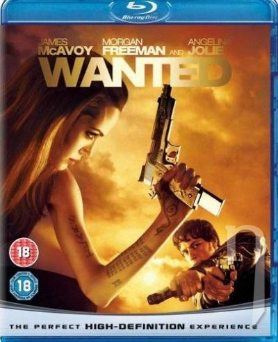 BLU-RAY Film - Wanted (Blu-ray)