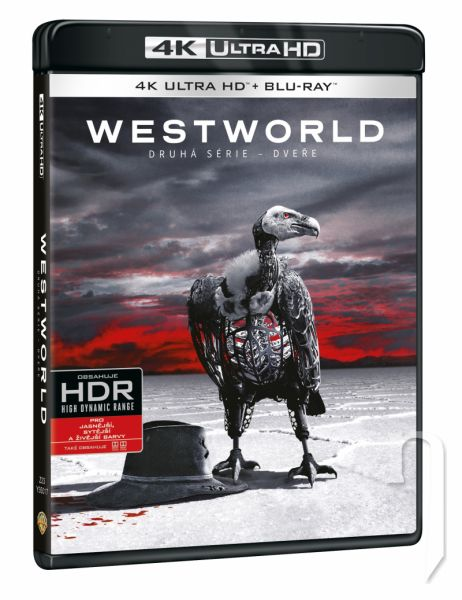 BLU-RAY Film - Westworld 2. séria (3 UHD)