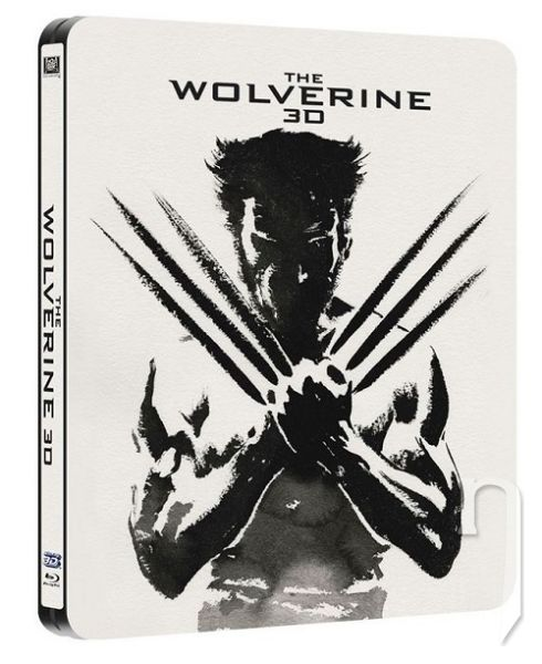BLU-RAY Film - Wolverine 3D/2D (Steelbook - 3 Bluray)