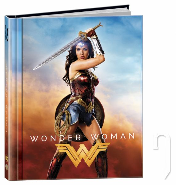 BLU-RAY Film - Wonder Woman 2BD (3D+2D) Digibook