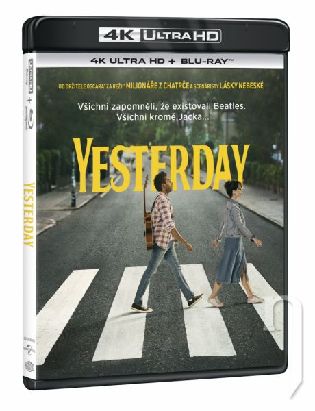 BLU-RAY Film - Yesterday (UHD+BD)
