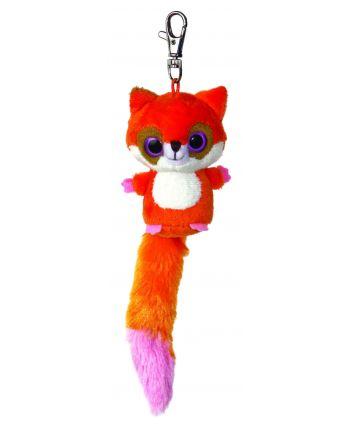 Plyšová líška Ruby - kľúčenka - YooHoo (7,5 cm)