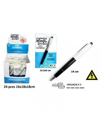 Zábavné pero s elektrickým šokom