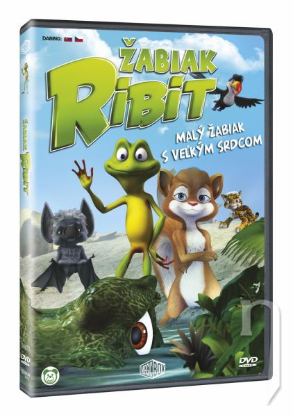 DVD Film - Žabák Ribit