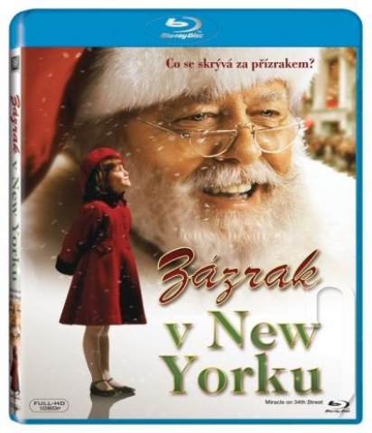 BLU-RAY Film - Zázrak v New Yorku (Bluray)