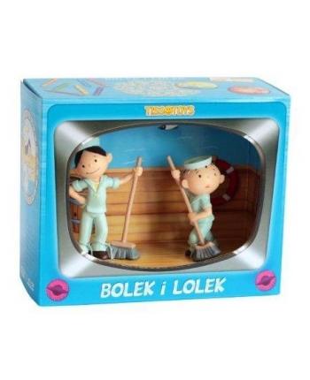 Set figúrok Lolek a Bolek námorníci (7,5 cm a 9 cm)