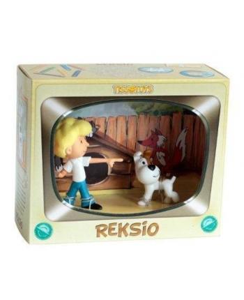 Zberateľská postavička Reksík a kamarát