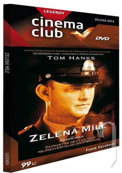 DVD Film - Zelená míle (pap.box)