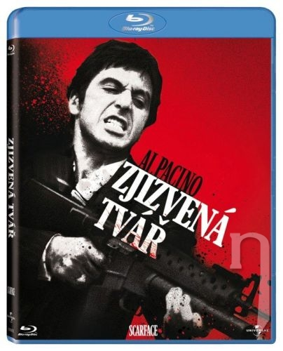 BLU-RAY Film - Zjazvená tvár (Bluray)