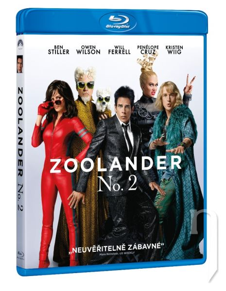 BLU-RAY Film - Zoolander No. 2
