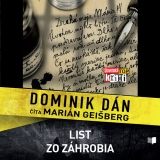 CD -  DOMINIK DÁN / ČÍTA MARIÁN GEIŠBERG List zo záhrobia (MP3-CD)