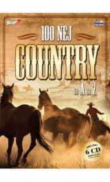 CD - 100 nej country 6CD