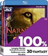 BLU-RAY Film - 3 BD 100% 3D fantasy (3x 3D Bluray)
