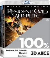 BLU-RAY Film - 3 BD 100% 3D akce (3x 3D Bluray)