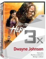 DVD Film - 3x Dwayne Johnson