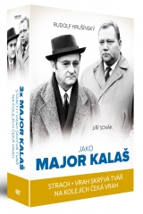 DVD Film - 3x Major Kalaš (3 DVD)