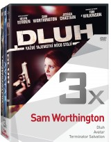 DVD Film - 3x Sam Wortington (3 DVD)