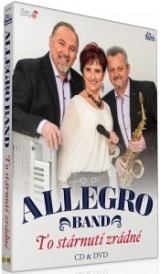 DVD Film - ALLEGRO BAND - TO STÁRNUTÍ ZRÁDNÉ (DVD + CD)