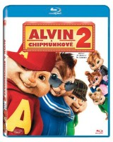 BLU-RAY Film - Alvin a Chipmunkovia 2 (Blu-ray)