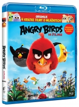 BLU-RAY Film - Angry Birds vo filme 3D (2 Bluray)