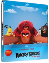 BLU-RAY Film - Angry Birds vo filme - Steelbook