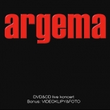 CD - ARGEMA - LIVE (CD+DVD)