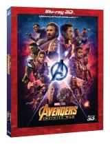 25253e6f0 BLU-RAY Film - Avengers: Nekonečná vojna (3D+2D) - limitovaná
