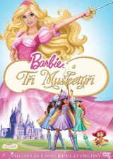 DVD Film - Barbie a Traja Mušketieri
