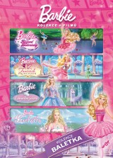 DVD Film - Barbie baletka (4 DVD)