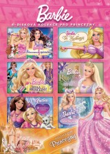 DVD Film - Barbie - Kolekcia Princezien (6 DVD)