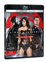 BLU-RAY Film - Batman vs. Superman: Úsvit spravodlivosti 2BD (UHD+BD)