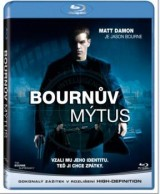 BLU-RAY Film - Bournov mýtus (Blu-ray)