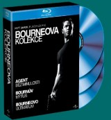 BLU-RAY Film - Bournova kolekcia (3 Blu-ray)