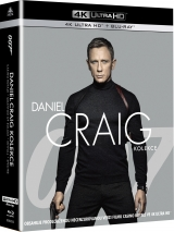 BLU-RAY Film - Daniel Craig JAMES BOND kolekcia (Casino Royale + Quantum of Solace + Skyfall + Spectre) (4xUHD + 4xBD)