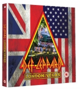 DVD Film - Def Leppard - London To Vegas (Limited Deluxe Box) (2DVD+4CD)