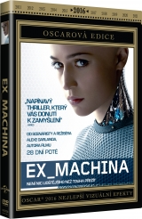 DVD Film - Ex Machina - oscarová edícia