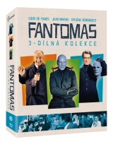 BLU-RAY Film - Fantomas (3 Bluray)