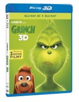 BLU-RAY Film - Grinch 3D+2D