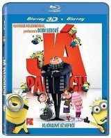BLU-RAY Film - Já, padouch 3D + 2D (bluray)