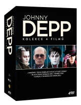 DVD Film - Johnny Depp kolekce (4DVD)