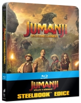 BLU-RAY Film - Jumanji: Vitajte v džungli - Steelbook International